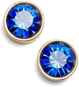 Loren Hope Bezel Set Stud Earrings