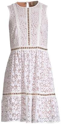 MICHAEL Michael Kors Mod Floral Lace Dress