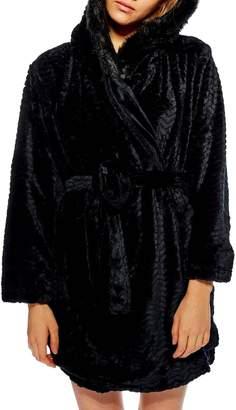 Topshop Kimmie Hooded Short Robe