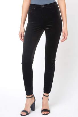Blank NYC Black Velvet Skinny Pant