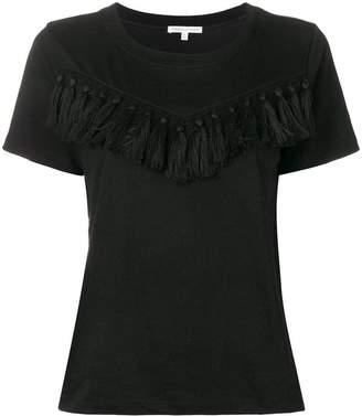 Rebecca Minkoff tassel trim T-shirt