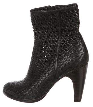 Frye Woven Ankle Boots