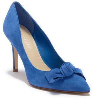 Marc Fisher Doreny Bow Suede Pump