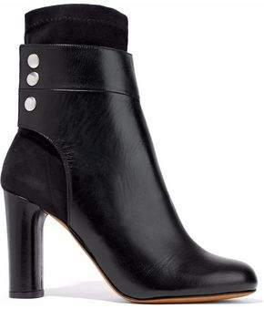 IRO Leather And Suede Ankle Boots
