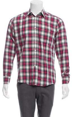 Our Legacy Plaid Flannel Shirt