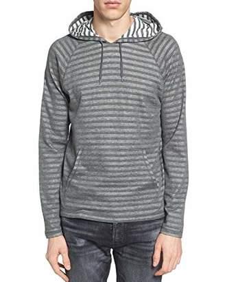 John Varvatos Men's Striped Long Sleeve Pullover