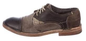 Dolce & Gabbana Patchwork Derby Shoes