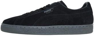 Puma Mens Suede Classic Trainers Black/Quiet Shade