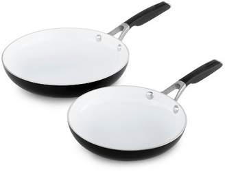 """Calphalon 8"""" and 10"""" Ceramic Non-Stick Frying Pan Set"""