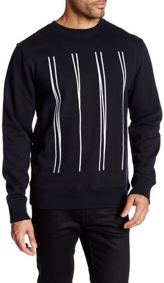 Saturdays Surf NYC Bowery NY Pullover Sweater $125 thestylecure.com