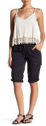 SUPPLIES BY UNION BAY Harriet Knit Waist Cargo Shorts (Petite)