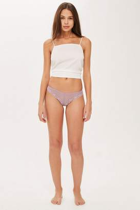 Topshop Lace Thong