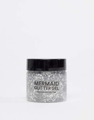 BOD Mermaid Body Biodegradable Glitter Gel - Silver