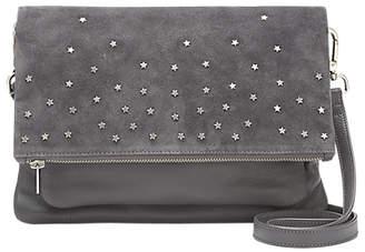 Mint Velvet Hope Star Studded Leather Cross Body Bag