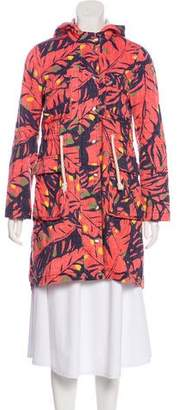 Matthew Williamson Printed Knee-Length Coat