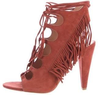 Sigerson Morrison Martia Fringe Sandals w/ Tags