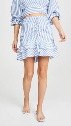 Red Carter Tiffany Skirt