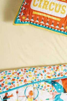 Anthropologie Organic Cotton Crib Sheet