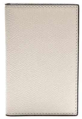 6db00859372e2 Valextra Bi Fold Leather Cardholder - Mens - White