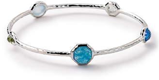 Ippolita Rock Candy Five-Stone Bangle, Light Blue