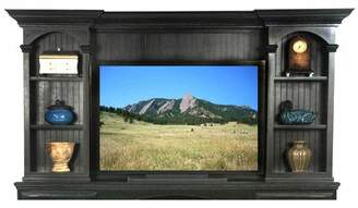 """Eagle Furniture Manufacturing American Premiere Hutch Entertainment Center for TVs up to 85"""" Eagle Furniture Manufacturing"""