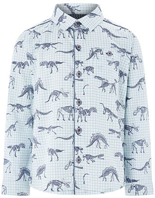 Monsoon Fossil Print Long Sleeve Shirt