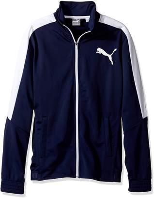 Puma Men's Contrast Jacket, Peacoat White