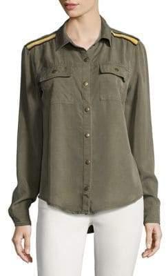Splendid Button-Down Utility Shirt
