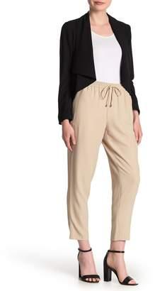 DKNY Drawstring Straight Leg Pants