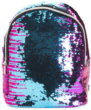 Reverse Sequin Mini Backpack