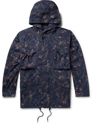 Nonnative + Liberty London Hunter Printed Cotton-Twill Hooded Field Jacket