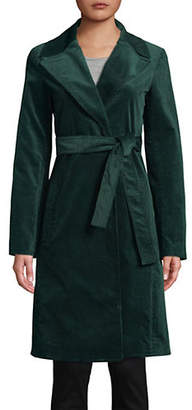 Theory Cinched Trench Coat