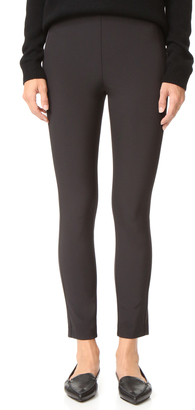Theory Navalane Back Zip Skinny Pants $265 thestylecure.com