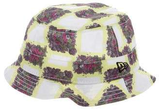 Opening Ceremony Floral Print Beach Hat
