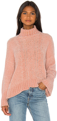 Central Park West Sasha Cable Sweater