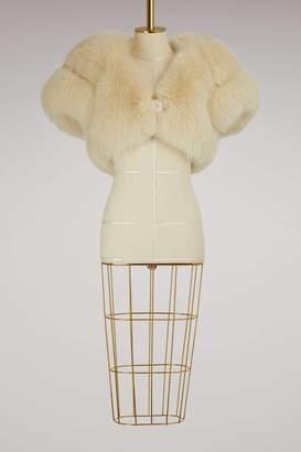 Miu Miu Short Fur Cape