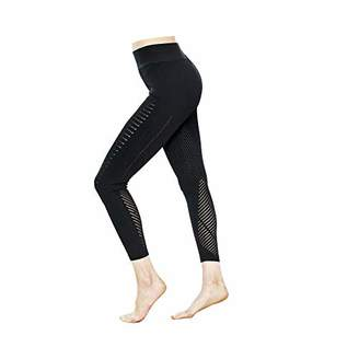 5Oaks Womens High Waist Butt Shaping Leggings Supported Seamless Tights S/M