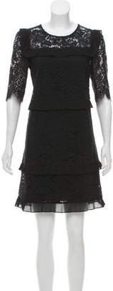 Claudie Pierlot Lace Mini Dress
