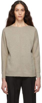 Max Mara Beige Cashmere Masque Sweater