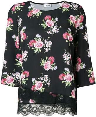 Liu Jo floral print top