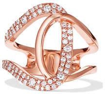 Lana Mega Flawless Illuminating 14k Rose Gold Diamond Ring, Size 7
