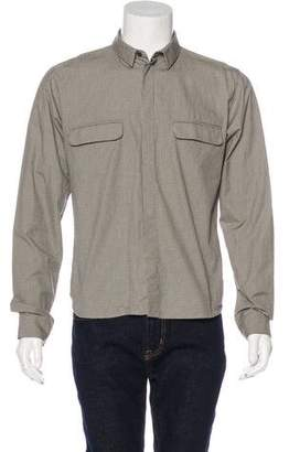 Kris Van Assche Check Woven Shirt