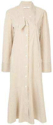 Tibi Kaia flared shirt dress