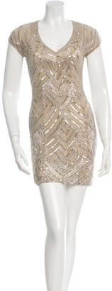 Parker Embellished Silk Dress $175 thestylecure.com
