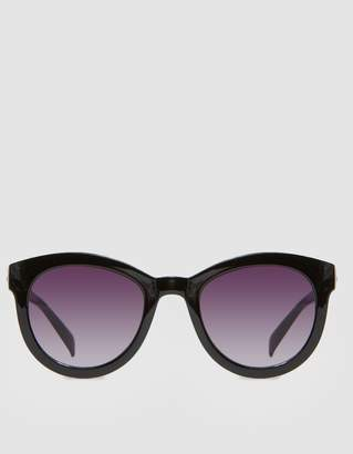Le Specs Quatro Sunglasses in Black