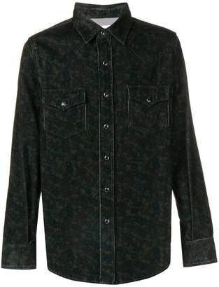 Saint Laurent corduroy shirt