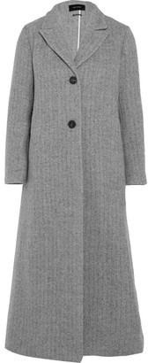 Isabel Marant - Duard Alpaca And Wool-blend Coat - Gray