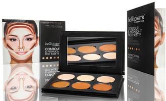 Bellapierre Cosmetics Cosmetics Contour & Highlight Pro Palette