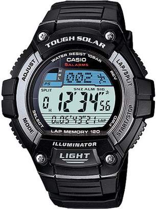 Casio Men's Solar Powered 120-Lap Memory Watch