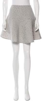 Tibi Patterned Mini Skirt w/ Tags